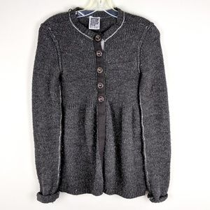 Miss Me | Gray Button Down Cardigan - H6